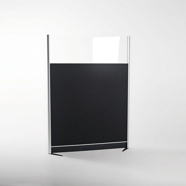 Eamark insight, systemvæg, akustikregulering, kontor, skærmvæg, plexiglas