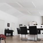 Akustik loft, støjdæmpning loft, Earmark, Ringe