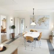 Askov, akustikloft, køkkenalrum, spisestue, Earmark, indretning, kunst, akuart smartart