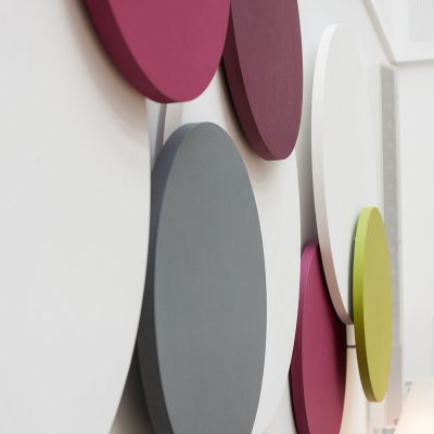 earmark wall circle, akustikregulering,