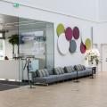 Earmark wall circle, siemens, akustikregulering, indretning, reception