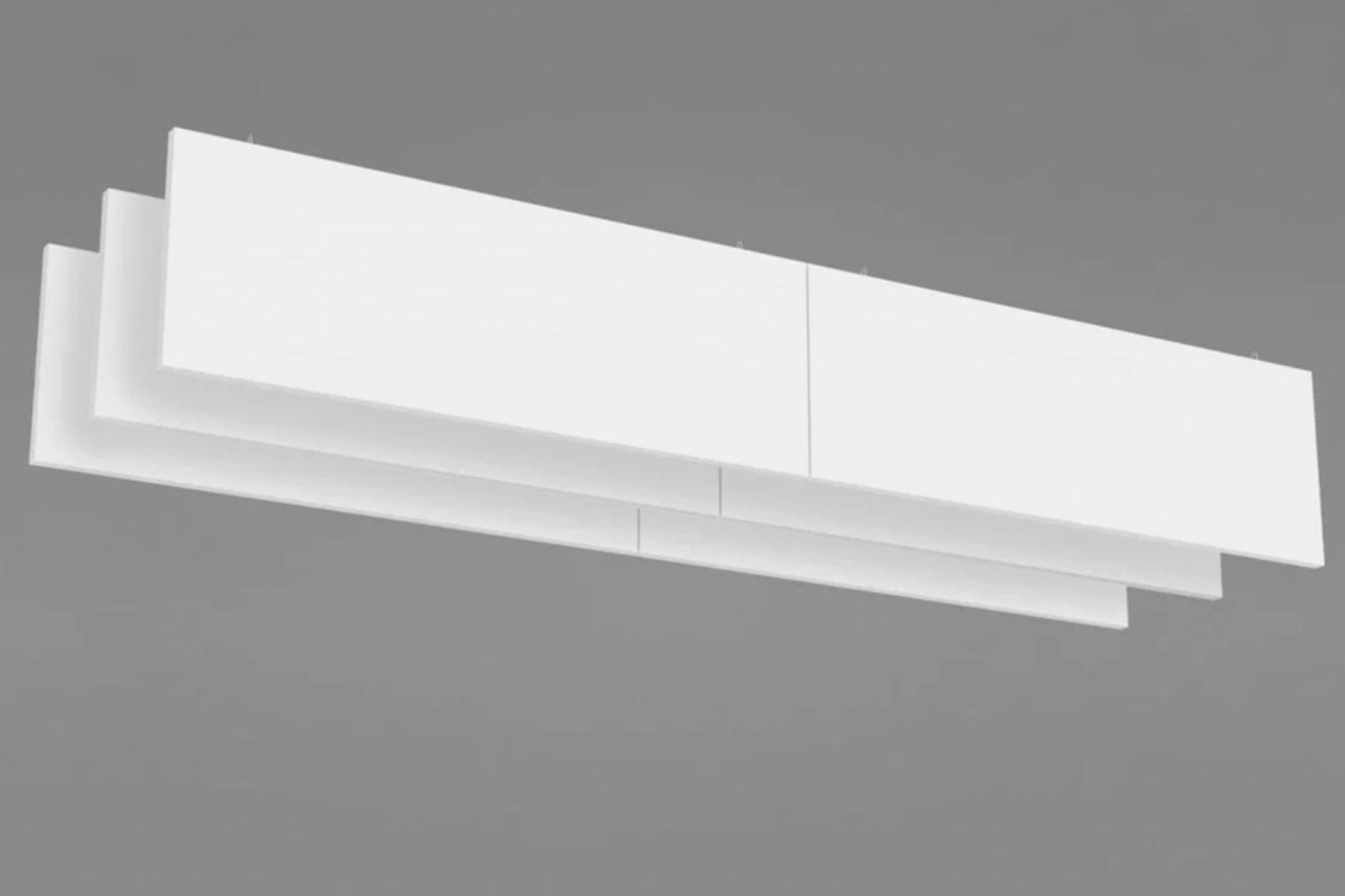 Ecophon Solo Baffle - Akustiske bafler til loftmontage
