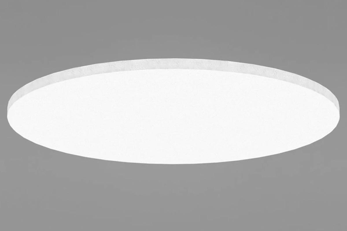 Ecophon Solo Circle cirkelformet akustikplader til loft med justerbare wires