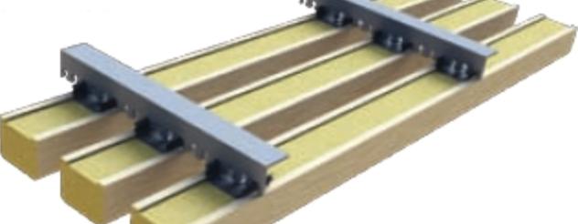 Insign akustiklameller montage